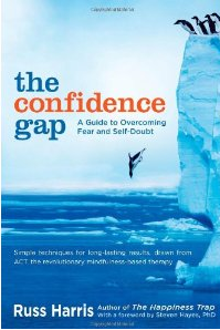 The Confidence Gap book cover; author Russ Harris