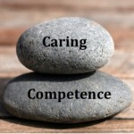 Caring Competence Rocks