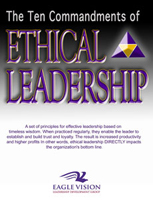 The Ten Commandments of Ethical Leadership by Dawn Frail